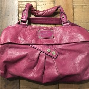 Marc by Marc Jacobs Purple Leather Standard Supply